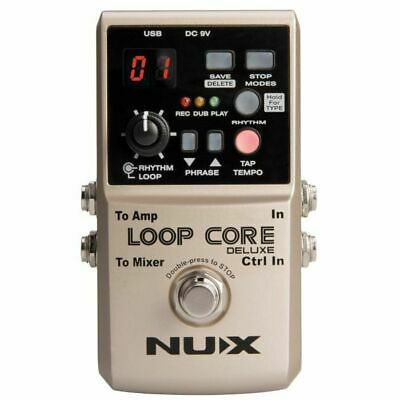 NUX Loop Core Deluxe 24 Bit Looper Pedal Bundle • 122.45£