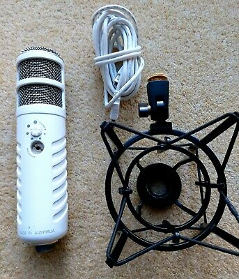 RØDE Podcaster Dynamic Microphone With USB  For Mac/PC + Rode Shock Mount.  • 145£