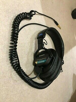 Sony MDR-7506 Headphones - Right Side Not Working (parts/repair) • 12£