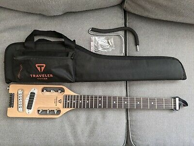 Traveler Guitar Ultra-Light Electric Maple With Travel Bag Lightly Used • 160.55£
