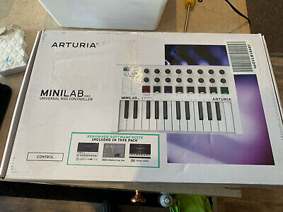 ARTURIA MINILAB MKII 25 Slim-Key Controller With 16 Encoders & 500 Sounds MK2 • 75.90£