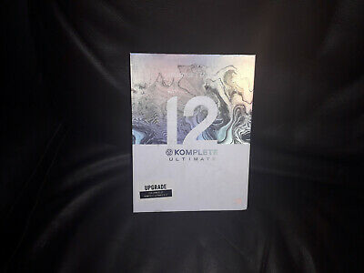 Native Instruments Komplete 12 Ultimate Upgrade Soft (Collectors Edition)BNIB • 320£