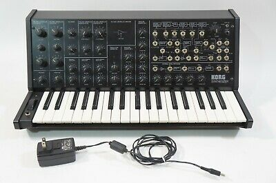 KORG MS-20 Mini Monophonic Analog Synthesizer W/ Adapter AS-IS • 171.85£