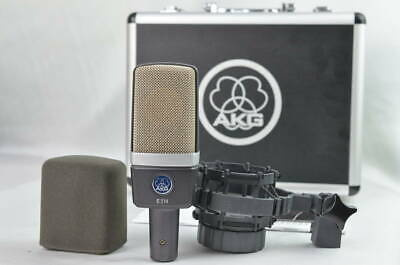 Stock Akg C214 Condenser Microphone Single-Directional Version Of The C414Xl2 • 387.77£