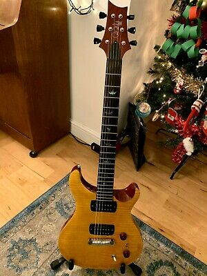 PRS SE Paul's Guitar Amber. Home Use Only. • 900£