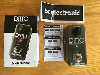 Ditto Looper FX Pedal By TC Electronics (boxed) • 38£