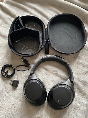 Sony Wh-1000xm3 Noise Cancelling Wireless Headphones Perfect Condition • 180£
