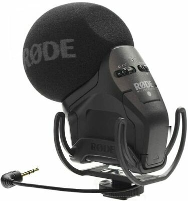 Rode Stereo VideoMic Pro Rycote Condenser On-Camera Microphone • 194.42£