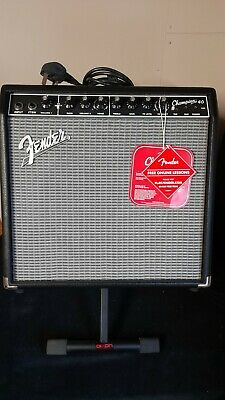Fender Champion 40 Amplifier For Electric Guitar - Black With On Board Effects • 70£