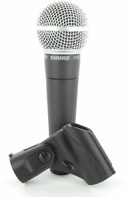 Shure SM58-LC Dynamic Wired XLR Professional Microphone • 70.90£