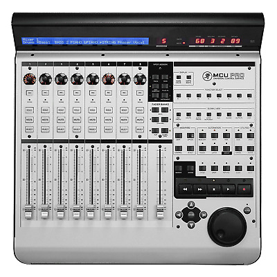 Mackie MCUPRO 8-Channel Control Universal Pro Master Controller - Refurbished