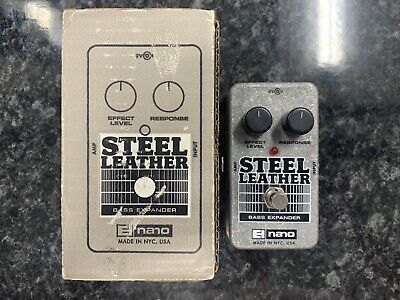 Electro-Harmonix Steel Leather Bass Guitar Expander Pedal