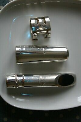 Selmer silver-plated tenor sax mouthpiece size G