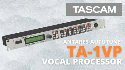 BRAND NEW TASCAM TA-1VP antares Auto-Tune evo Real-Time Pitch Correcter