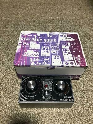Death By Audio Echo Master Evil Vocal Effector