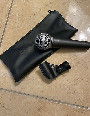 Shure SM58 Dynamic Wired XLR Professional Microphone