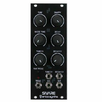 Erica Synths Snare Drum Drum Series Module