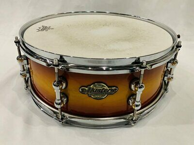 Pearl Masters Premium Maple Sst 14 5.5 Snare Drum Large Deficit Dposal Used