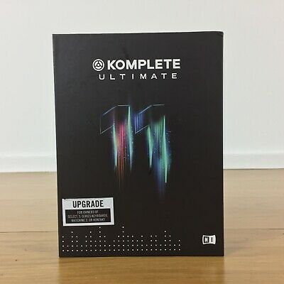 Native Instruments Komplete 11 Ultimate Boxed - Upgrade From Select