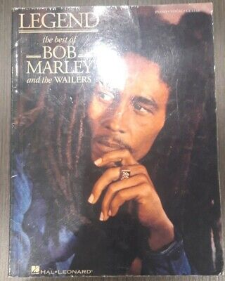 Legend the best of Bob Marley and the Wailers Piano Music Book Score Hal Leonard