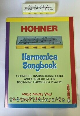 Hohner Harmonica Song Book,  and 4 hole  Speedy harmonica for Children