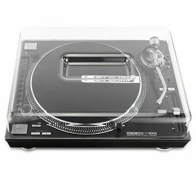 Decksaver Reloop RP7000 & RP8000 Turntable Cover (smoked clear)