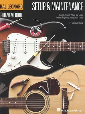 Hal Leonard Guitar Method Setup Maintenance Learn To Play Beginner Music Book • 12.99£