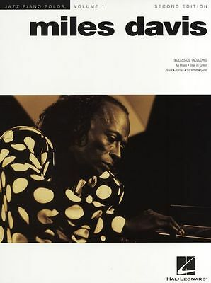Jazz Piano Solo Miles Davis Learn To Play Blue In Green All Blues Music Book 1 • 14.45£