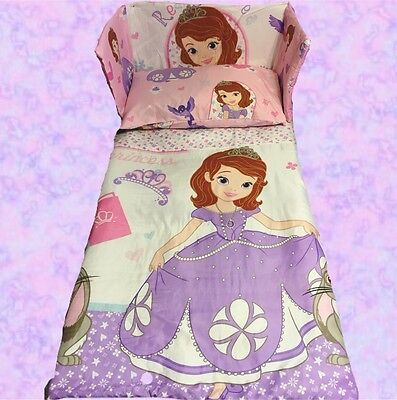 Disney Princess SOFIA The First Cot/Crib BEDDING SET - Different Sizes Available • 30£