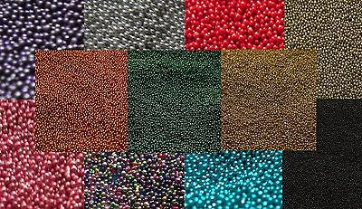 50g To 100g Micro Glitter Glass No Hole Scrapbook Beads - Buy2Get 3rd 50% OFF • 4.36£