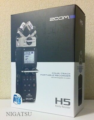 NEW Zoom H5 Portable Handheld Field Recorder From JAPAN • 248.03£