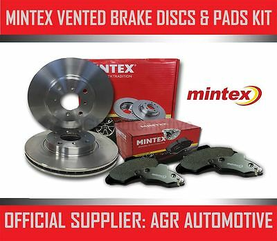 MINTEX FRONT DISCS AND PADS 262mm FOR ROVER 45 SALOON 2.0 V6 150 BHP 2000-05 • 53.13£