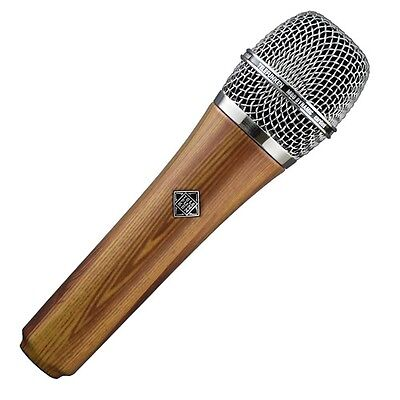 Telefunken M80 Supercardioid Dynamic Microphone (Oak) U.S. Authorized Dealer • 236.97£