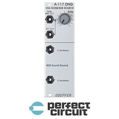 Doepfer A-117 DNG Digital Noise + 808 Source EURORACK - NEW - PERFECT CIRCUIT • 67.90£