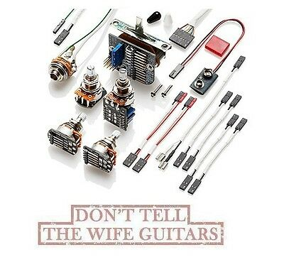 EMG Solderless Conversion Wiring Kit For 3 Pickups W/ Switch & PPP Push/Pull Pot • 59.20£