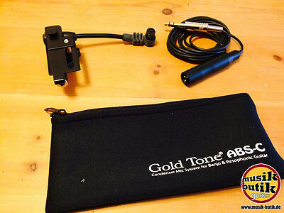 Gold Tone ABS-C Banjo-Resonator Guitar Mic (Condenser) • 233.69£