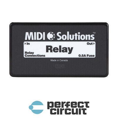 MIDI Solutions Relay MIDI Controlled Switch INTERFACE - NEW - PERFECT CIRCUIT  • 101.11£