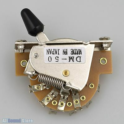 NEW - DM-50 5-way Pickup Switch For Japan Import Fender® Ibanez® Guitar Bass MIJ • 13.74£