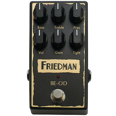 Friedman BE-OD Overdrive Distortion Pedal • 149.34£