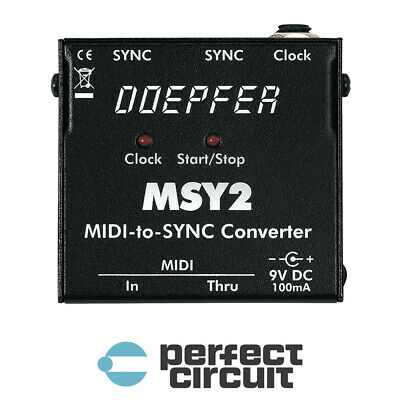 Doepfer MSY2 MIDI To DIN Sync INTERFACE - NEW- PERFECT CIRCUIT • 101.89£