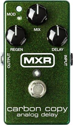 MXR M169 Carbon Copy Delay Pedal • 141.11£
