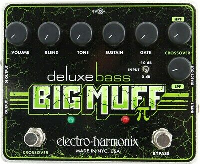 Electro-Harmonix Deluxe Bass Big Muff Pi Distortion Sustainer Pedal • 106.42£