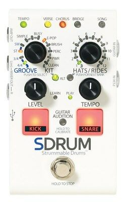 DigiTech SDRUM Strummable Drums Pedal • 129.82£