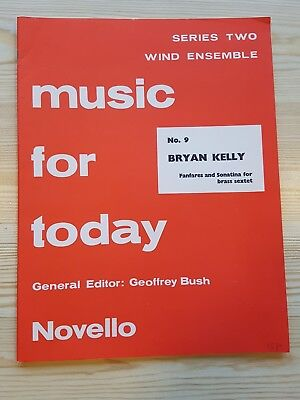 Music For Today Novello for Wind Ensemble Series 2 No 9. Fanfares Bryan Kelly