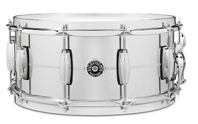 Gretsch GB4164S USA Brooklyn Chrome Over Steel Snare, 14x6.5in