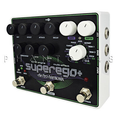 Electro-Harmonix Superego Plus + - Synth Generator Guitar Effects Pedal - Featur • 192.86£