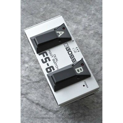 BOSS FS-6 Dual Foot Switch NEW Guitar Effects Pedal F/S • 50.64£