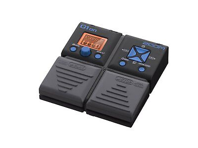 ZOOM G1on Multi Effects Guitar Effect Pedal NEW • 52.46£