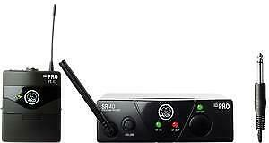 AKG WMS 40 Mini Wireless Instrument Set (ISM2 (EU2) – 864.375) • 91.29£