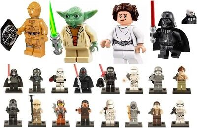 Starwars Mini Figures NEW UK Seller Fits Major Brand Blocks Bricks Star Wars • 2.95£